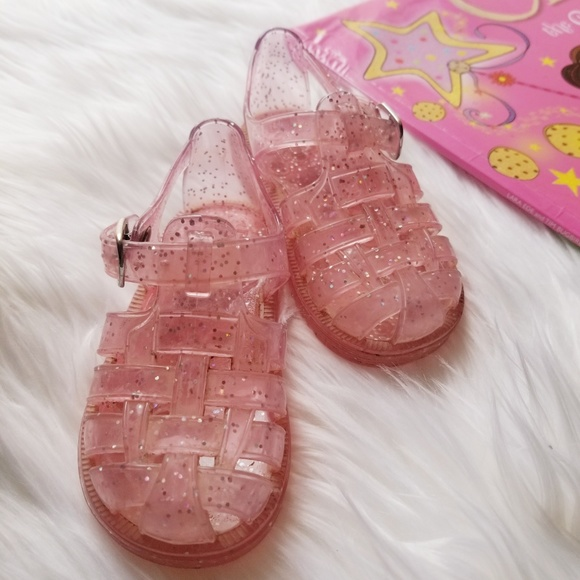 636c0c471156 GAP Other - Baby GAP  Baby pink jelly sandals size 5